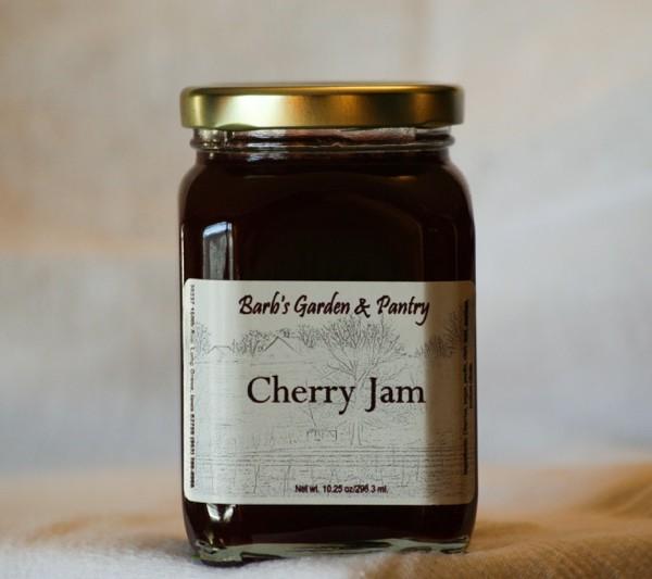 Cherry Jam - Barb's Garden & PantryBarb's Garden & Pantry